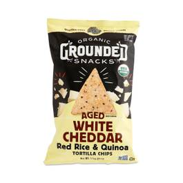 Aged White Cheddar Rice & Quinoa Chips