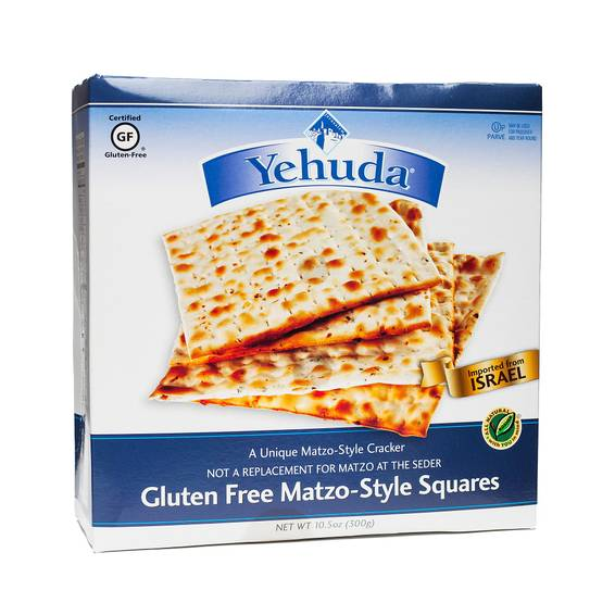 Gluten-Free Matzo-Style Squares - Unflavored