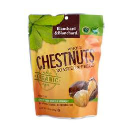 Organic Whole Chestnuts Roasted & Peeled