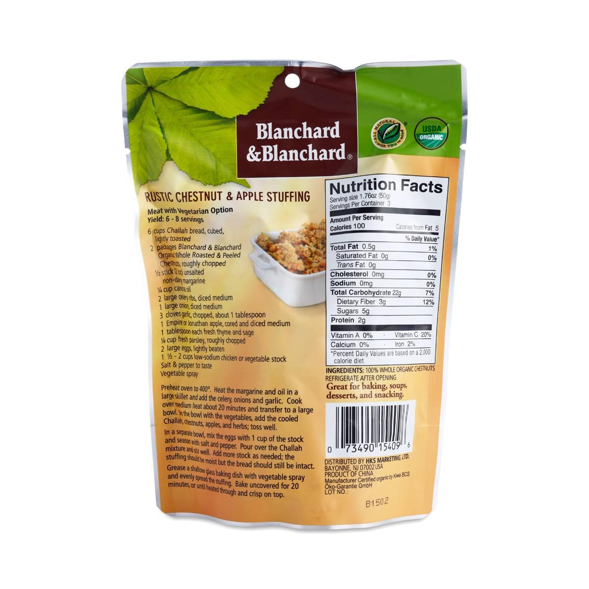 Organic Whole Chestnuts Roasted & Peeled - Thrive Market