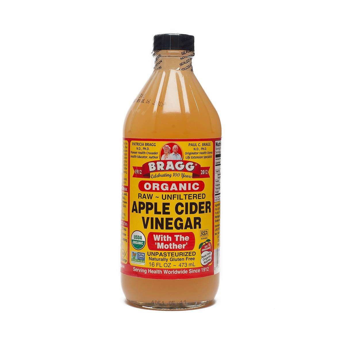 Organic apple cider vinegar by bragg thrive market