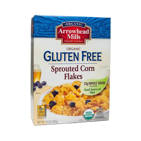 Sprouted Corn Flakes Cereal