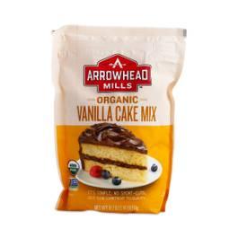 Organic Vanilla Cake Mix