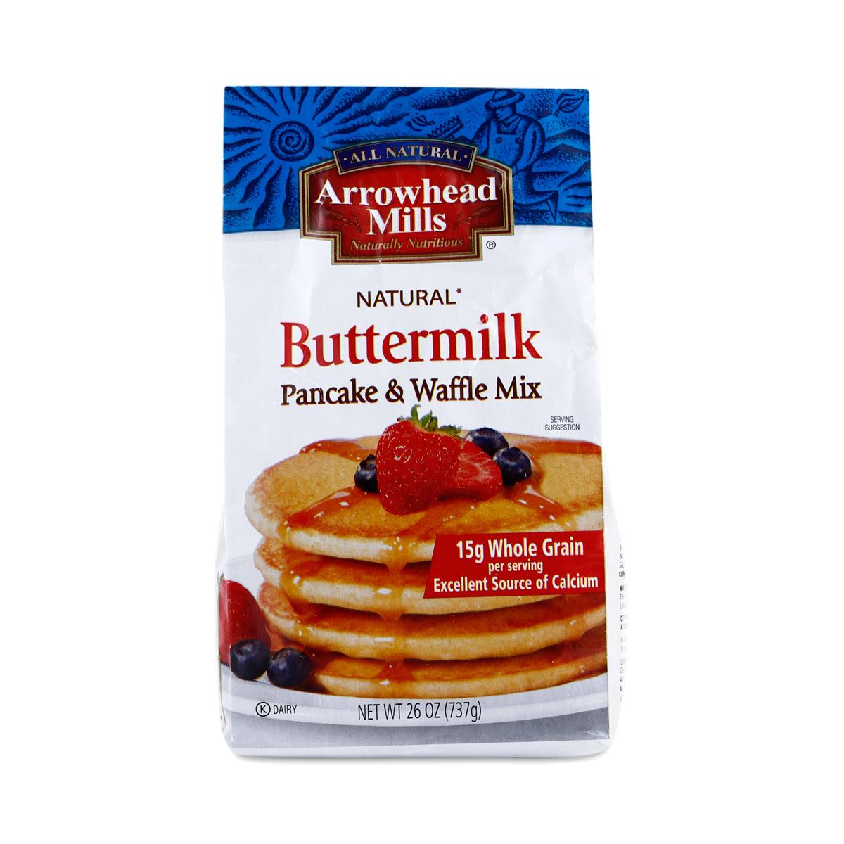 Arrowhead mills buttermilk pancake mix