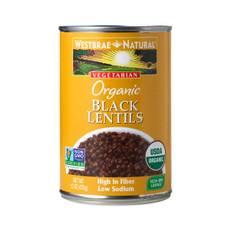 Vegetarian Organic Black Lentils
