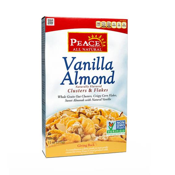 Clusters and Flakes Cereal - Vanilla Almond