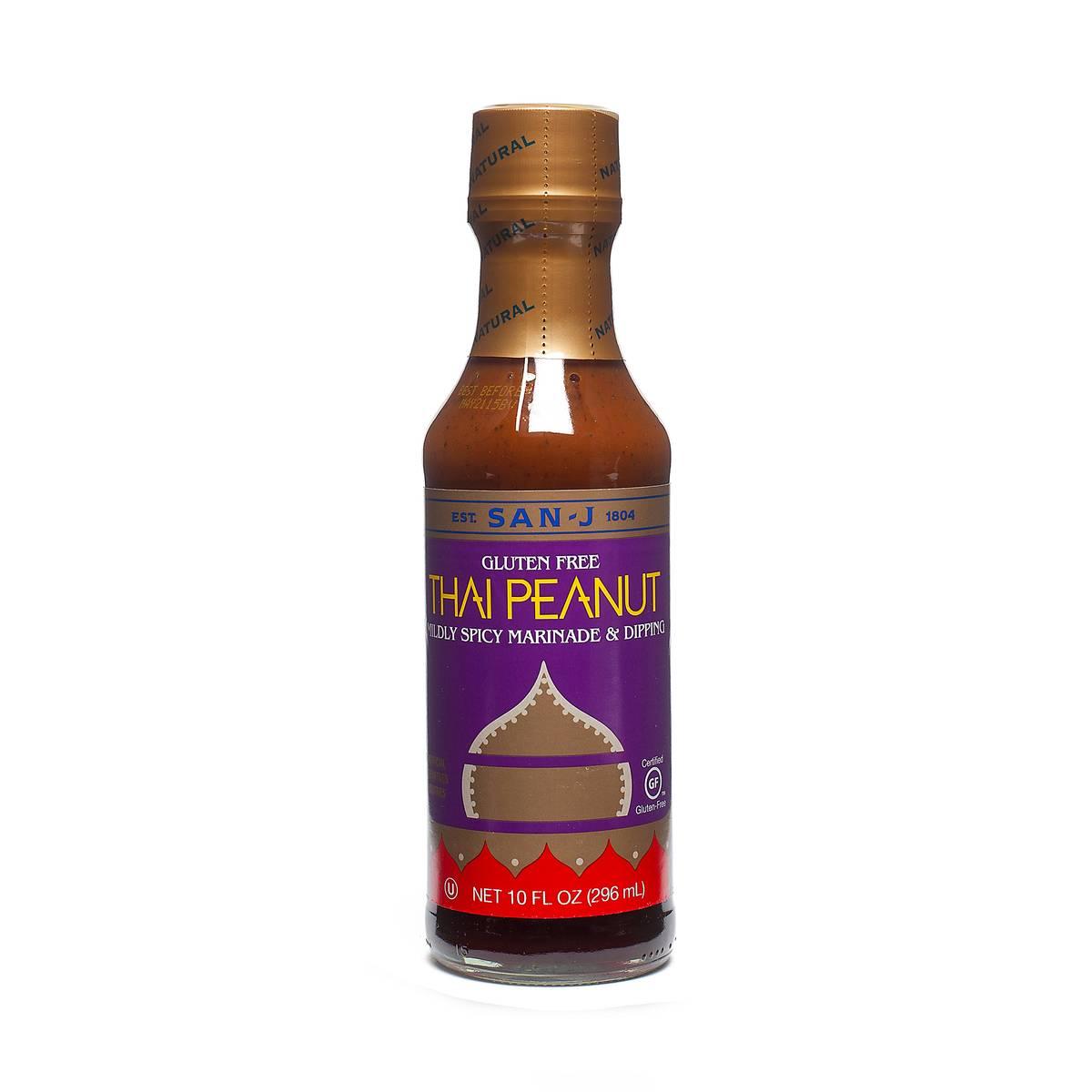 Thai Peanut Sauce By San J International Thrive Market