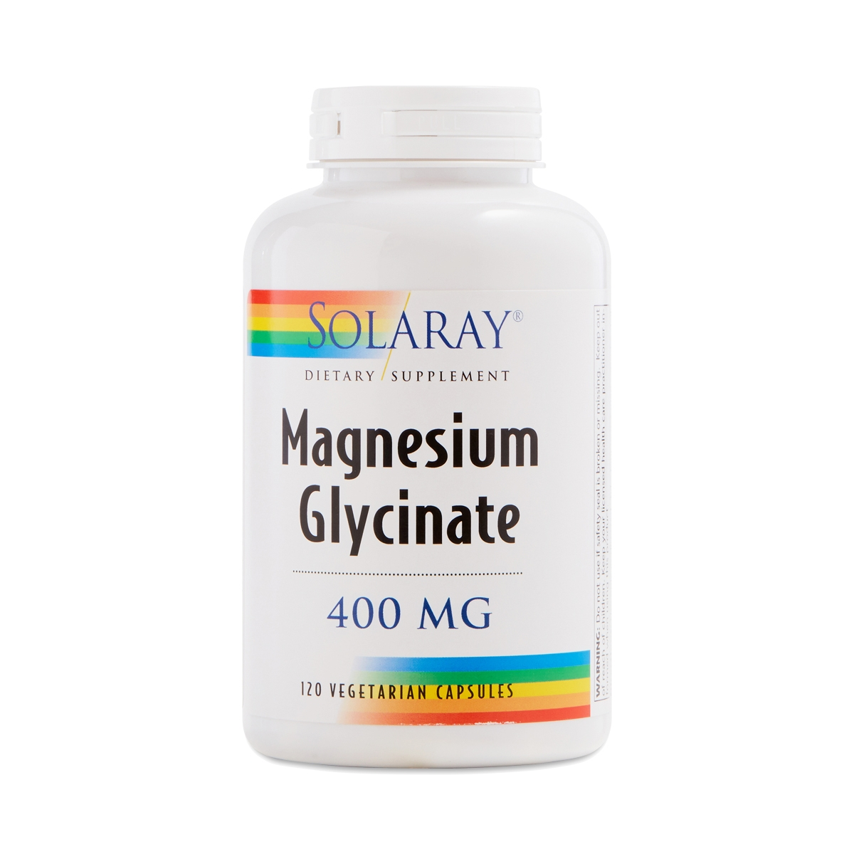 Best magnesium supplement for leg cramps Solaray Magnesium Glycinate 120 vegetarian capsules