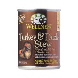 Turkey & Duck with Sweet Potatoes & Cranberries Canned Dog Food