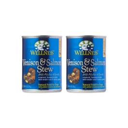 Venison and Salmon Stew Canned Dog Food