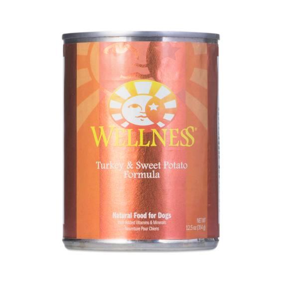 Wellness Turkey And Sweet Potato Canned Dog Food