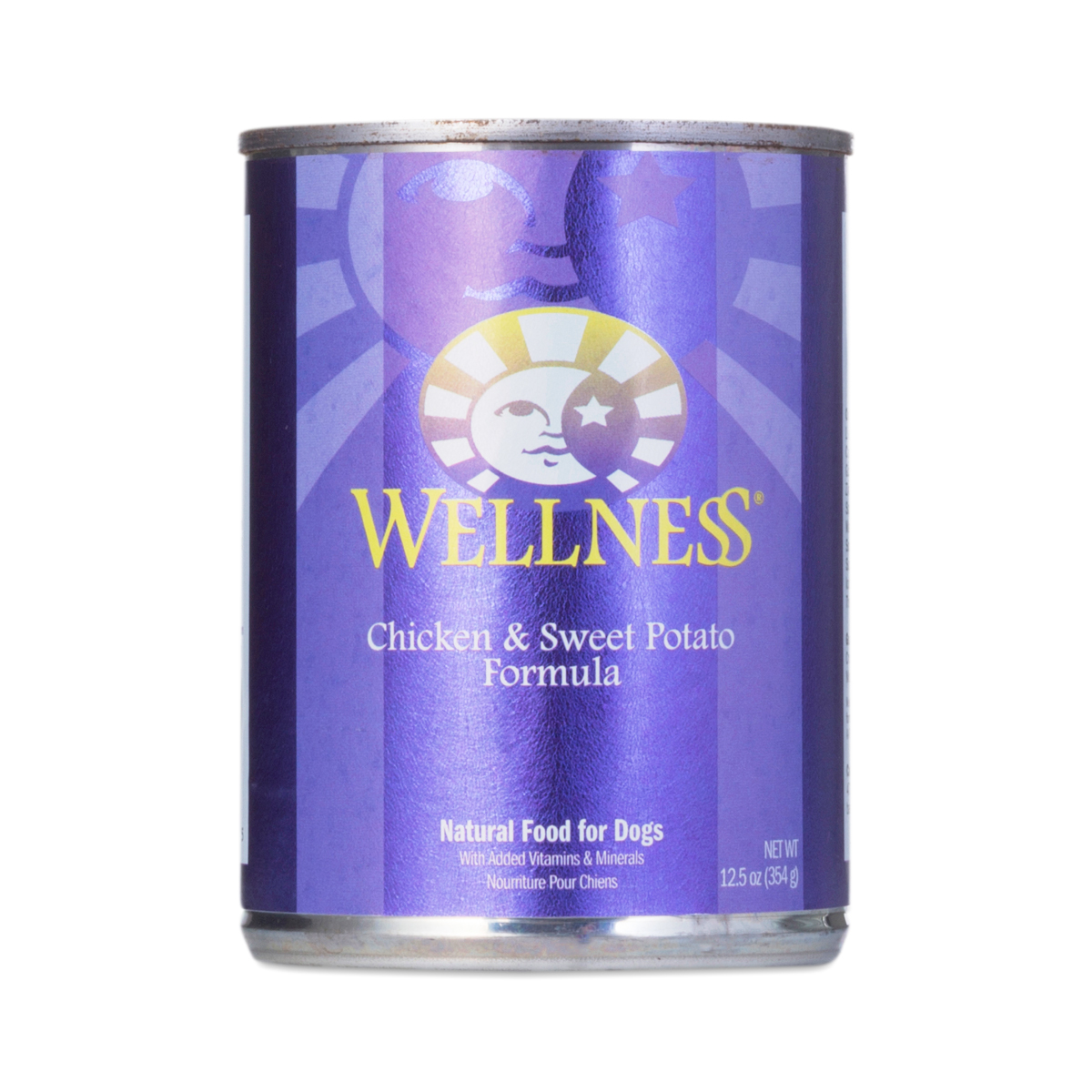 Wellness Chicken & Sweet Potato Canned Dog Food 12.5 oz can