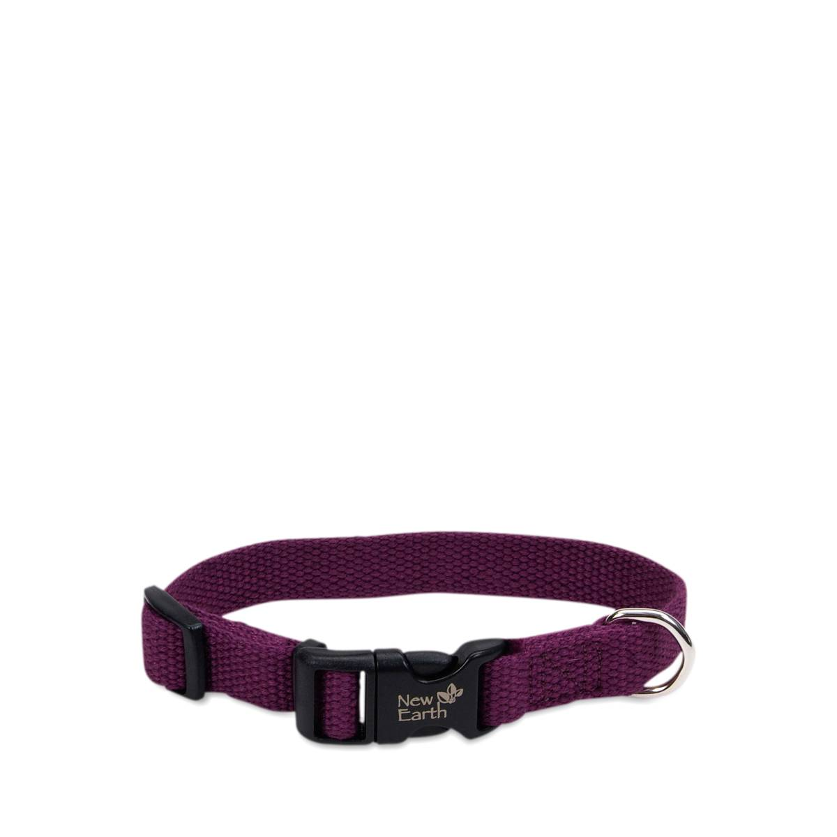 "Eggplant 5/8"" Soy Adjustable Collar by New Earth - Thrive Market"