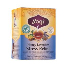 Honey Lavender Stress Relief Tea