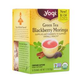 Organic Green Tea with Blackberry Moringa