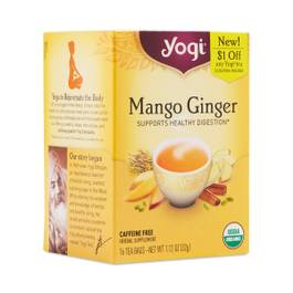 Organic Mango Ginger Tea