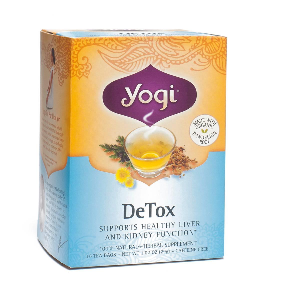 Detox Tea By Yogi Tea Thrive Market