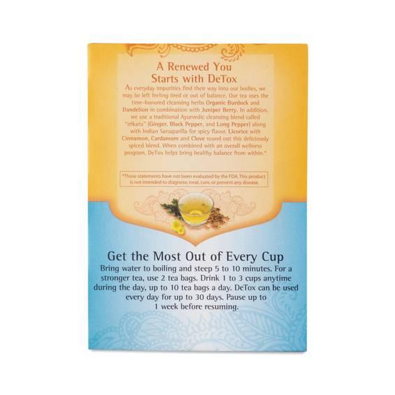 Detox Tea by Yogi Tea - Thrive Market