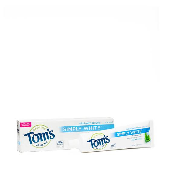 Simply White Toothpaste, Clean Mint