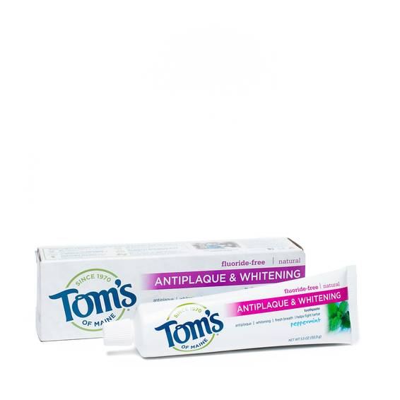 Fluoride-Free Antiplaque and Whitening Toothpaste - Peppermint