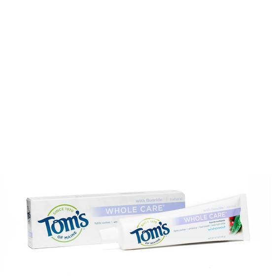 Whole Care Toothpaste, Wintermint