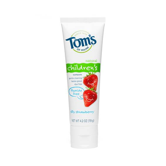 Fluoride-Free Children's Toothpaste, Silly Strawberry