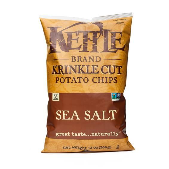 Sea Salt Krinkle Cut Chips