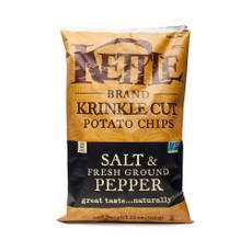 Salt and Fresh Ground Pepper Krinkle Cut Chips