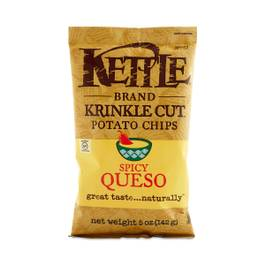 Spicy Queso Krinkle Cut Potato Chips