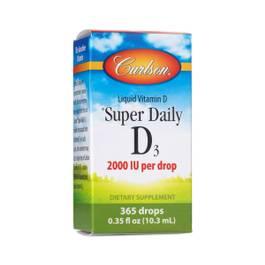 Super Daily D3 2000 IU Liquid Supplement