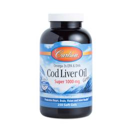 Cod Liver Oil Gems Super 1000 mg