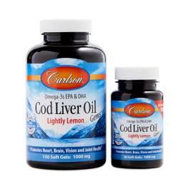 Cod Liver Oil Lemon