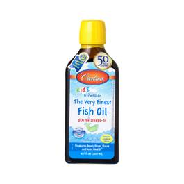 Kids Very Finest Fish Oil - Lemon Flavor