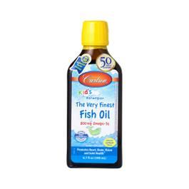 Kids Very Finest Fish Oil - Lemon Flavor