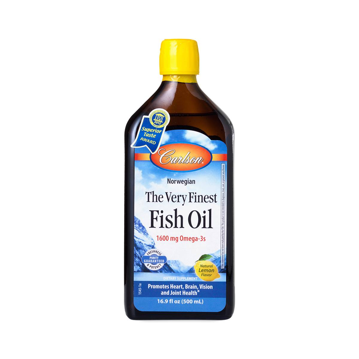17 oz very finest fish oil by carlson labs thrive market for Best fish oil on the market