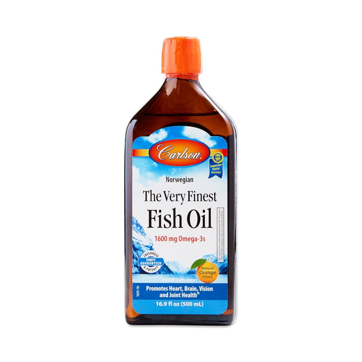 Orange Very Finest Fish Oil By Carlson Labs Thrive Market