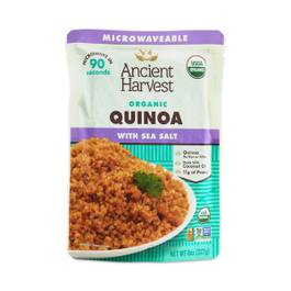 Organic Microwaveable Quinoa with Sea Salt