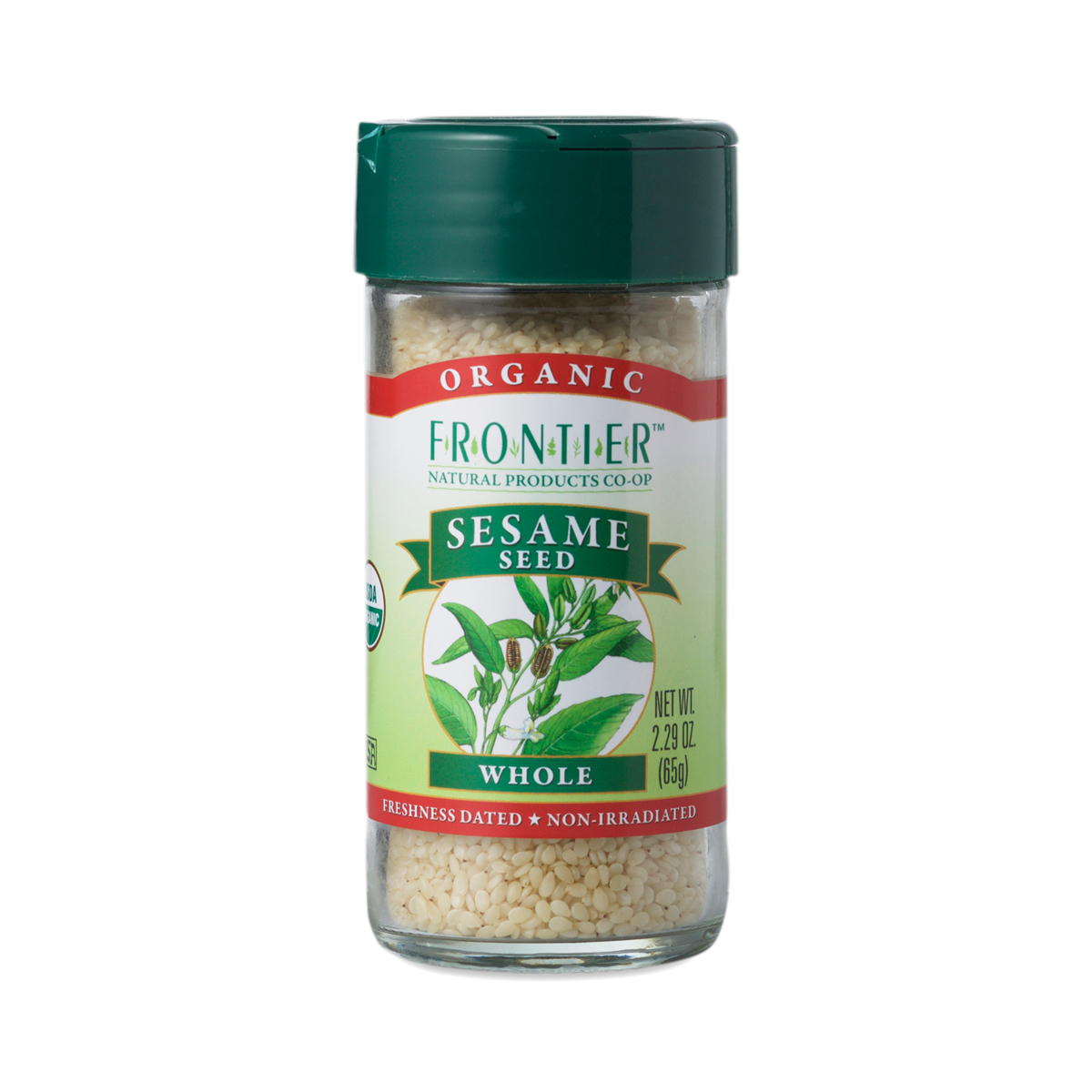 Whole Organic Sesame Seed by Frontier Natural Foods - Thrive Market