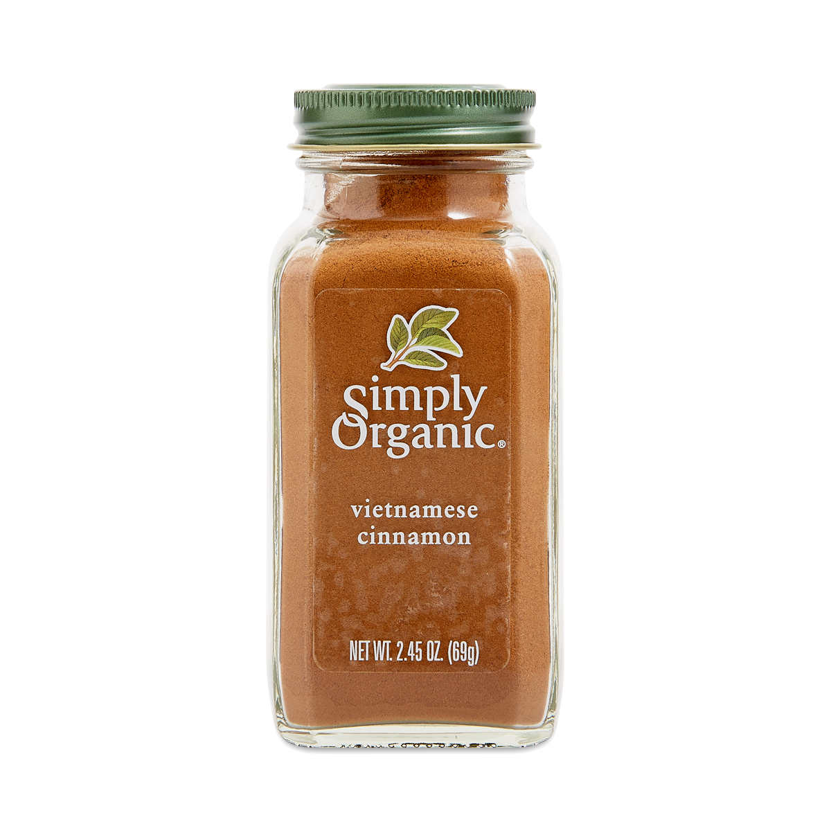 Simply Organic Vietnamese Ground Cinnamon 2.45 oz container