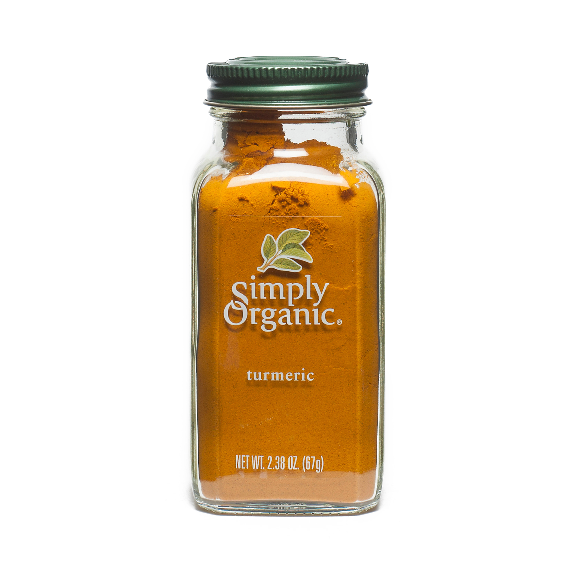 Simply Organic Ground Turmeric Root 2.38 oz container