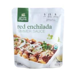 Organic Red Enchalada Simmer Sauce