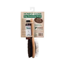 Dog Grooming Brush with Shampoo 2 oz