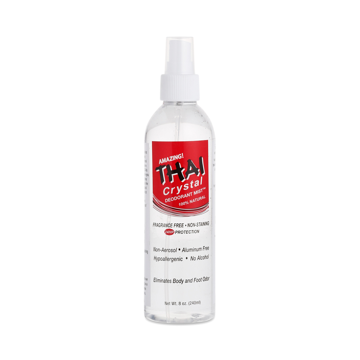 Deodorant Stones of America Thai Crystal Deodorant Mist Body Spray 8 oz bottle