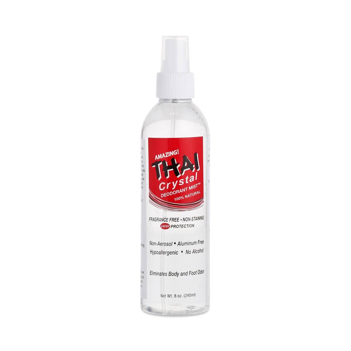 8 Oz Crystal Deodorant Mist Body Spray Thrive Market