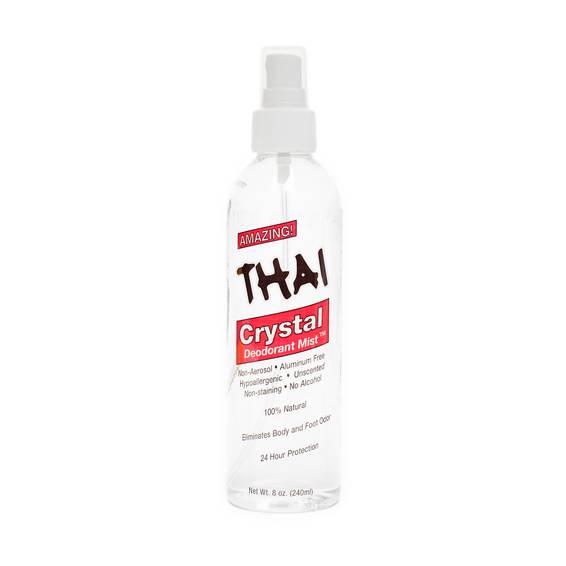 Crystal Deodorant Mist Body Spray