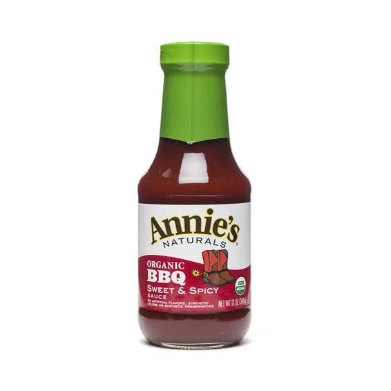 Annie's Organic BBQ Sauce - Sweet & Spicy