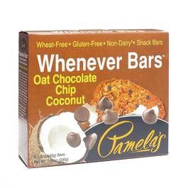 Oat Chocolate Chip Coconut Whenever Bars