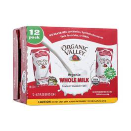 Organic Whole Milk, Single Serve