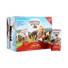 Organic Whole Milk, Single Serve