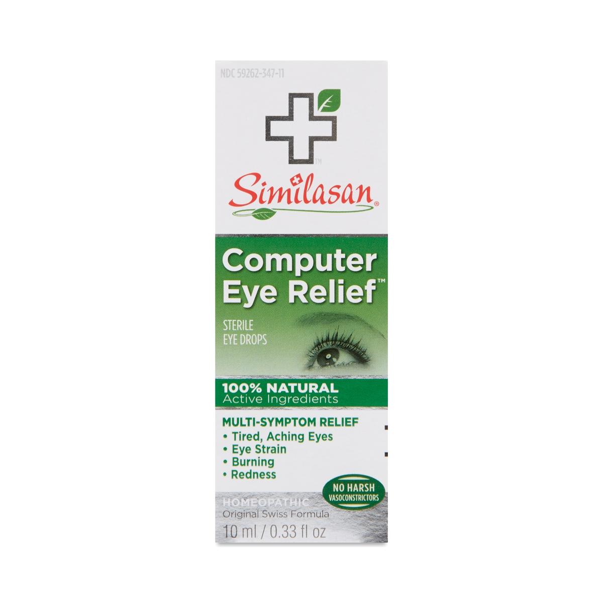 Similasan Corp Computer Eye Relief Drops 10 mL bottle
